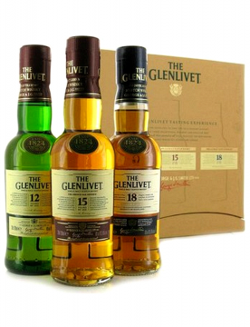 The Glenlivet trio 3x0,2L